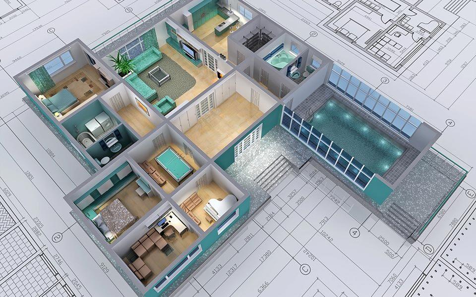 სახლების და აგარაკების დაპროექტება მშენებლობა