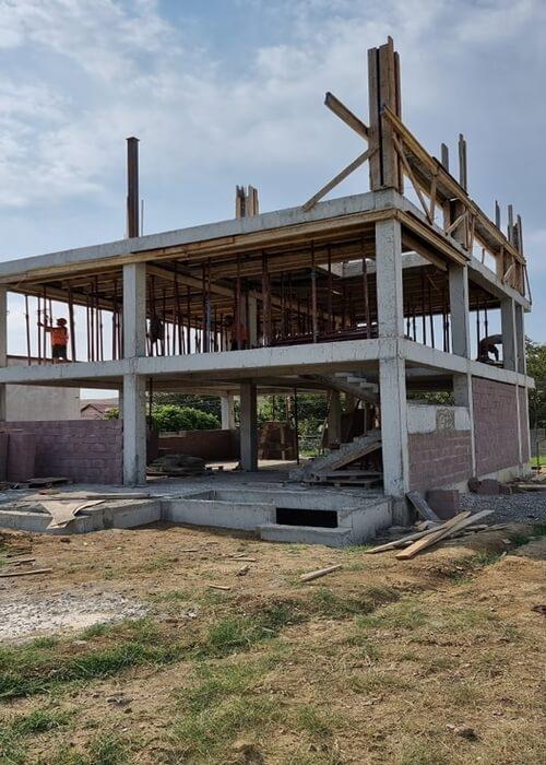 სახლის მშენებლობა